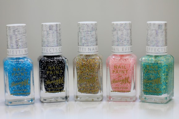 BARRY M CONFETTI NAIL EFFECTS