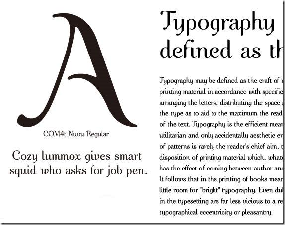 com4t-nuvu-regular-free-high-quality-font