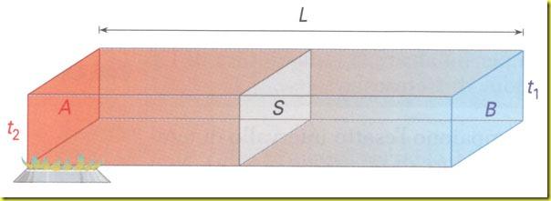 Trasmissione del calore in una sbarra omogenea