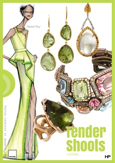 Pantone 2013 Spring Colors in Tender Shoots