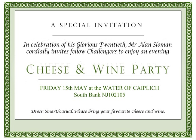 Cheese and Wine Invite 2015