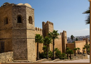 Rabat, walls of medina