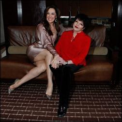 Claudia Raia e Liza Minnelli: encontro de divas