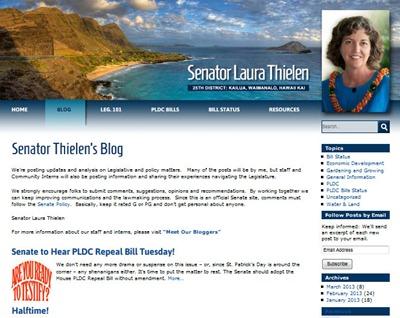 Sen Thielens blog