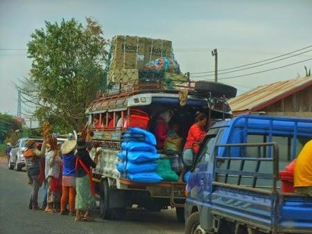 entre Pakse y Nakasong, Laos