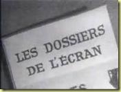 1967 les dossiers de l'écran