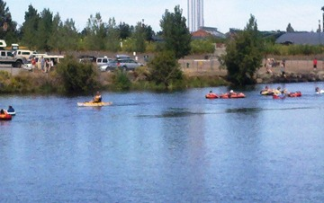 deschutes river fun