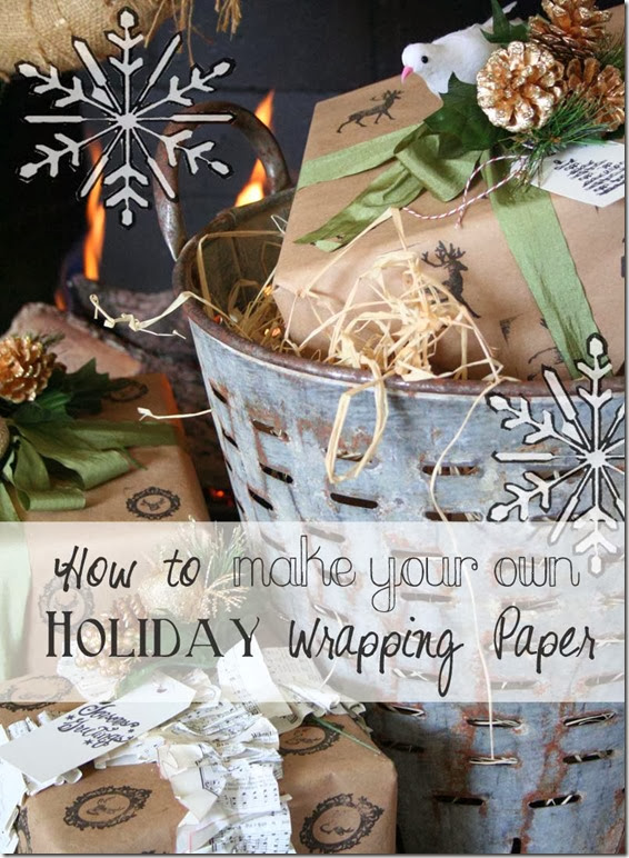 holiday paper DIY