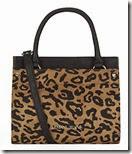 Armani Jeans Small Leopard Print Bag