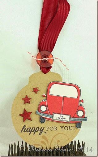 happy car tag