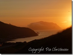 Solnedgang i Sørvágur