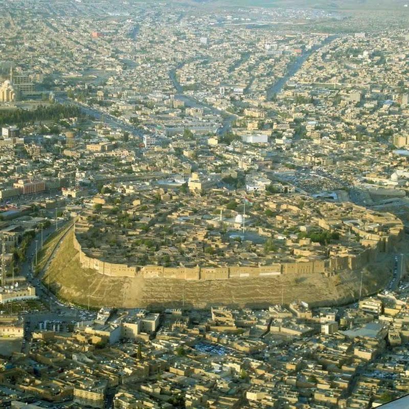 The Citadel Town of Erbil, Iraq