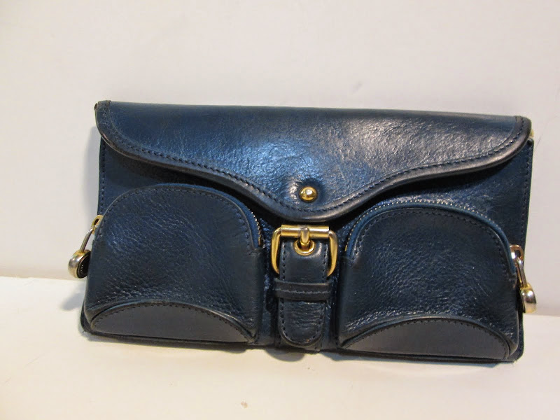 Marc Jacobs Navy Blue Wallet