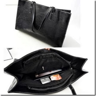 u0855 Black (170.000) - PU Leather, 43 x 34 x 11