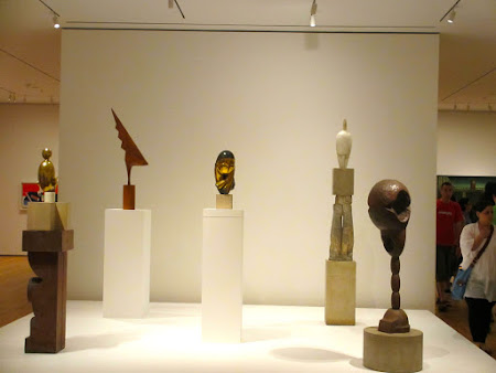 Museums of New York: works of Constantin Brancusi