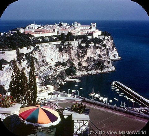 View-Master The Five Little Countries of Europe (B149), Scene 7: Monaco