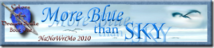 More Blue than Sky Banner