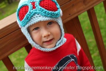 custom aviator hat