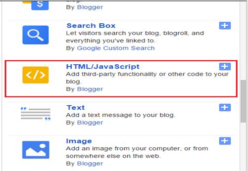 Add a gadget page
