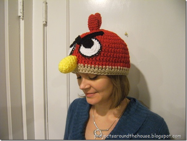 Angry Birds Crochet Hat