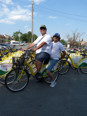 Sibiu: So, during the second day we went bicycling