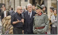 Le réalisateur et ses deux acteurs