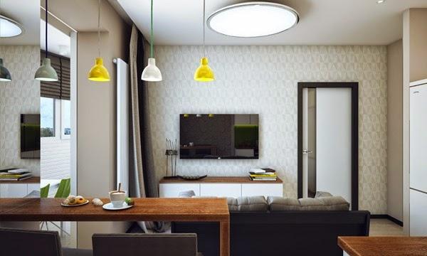 apartamento-lamparas-color-amarillo