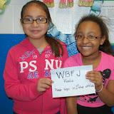 WBFJ Cici's Pizza Pledge - South Fork Elementary - Mrs. Parson's 3rd Grade Class - WS - 11-13-13