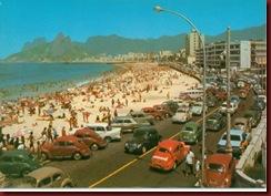 Fuscas em Copacabana