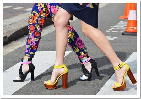 details shoes