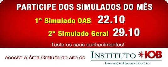 banner promoção simulados oab - outubro 20111