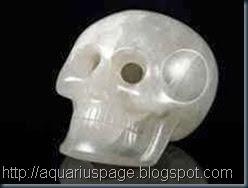 crânio de cristal do smithsonian institute