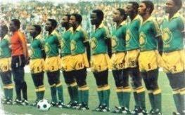Les Léopards du Zaïre en 1974