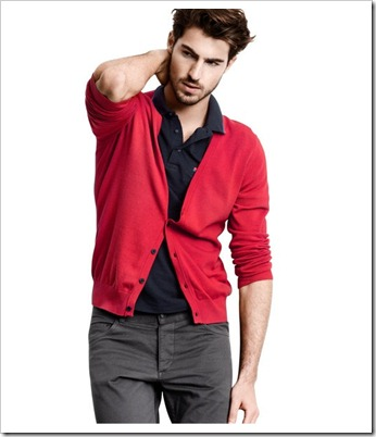 ssfashionworld_blogger_slovenian_slovenska_blogerka_fashion_male_men_man_style_dressed_cardigan_red_polo_shirt