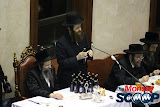 Yartzheit Tish For Stamar Rebbe Held In Satmar Beis Medrash Of Monsey (Photos by Moshe Lichtenstein) - IMG_5551.JPG