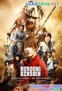 Kyoto Inferno - Lãng Khách 2: Đại Hỏa Kyoto - Rurouni Kenshin Tập HD 1080p Full