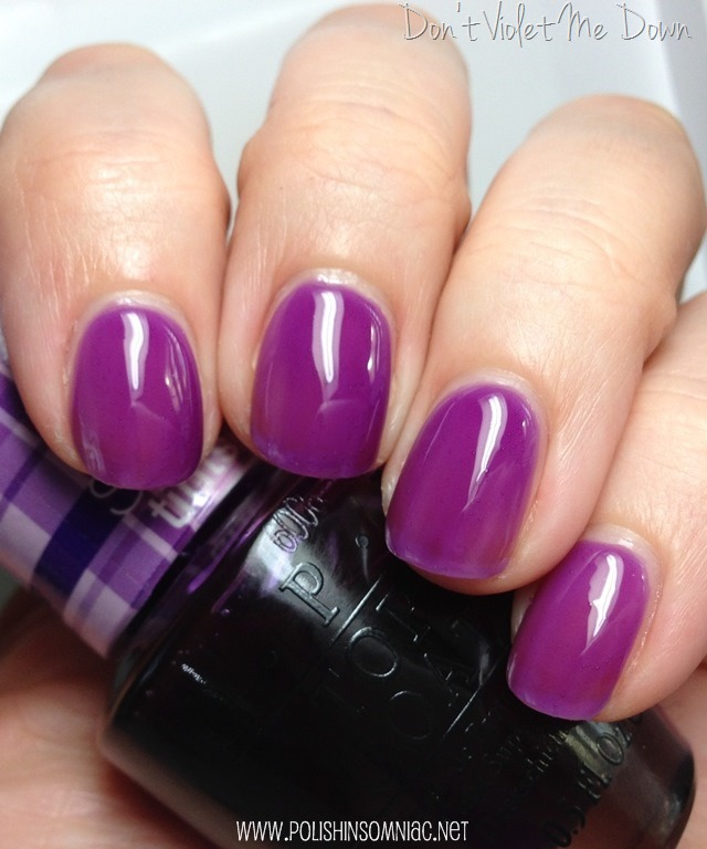 OPI Don't Violet Me Down