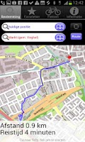 Screenshot of Route Planner