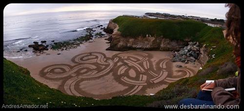 desenhando na areia desbaratinando  (2)
