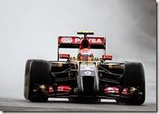 Lotus con la Power Unit Mercedes nel 2015