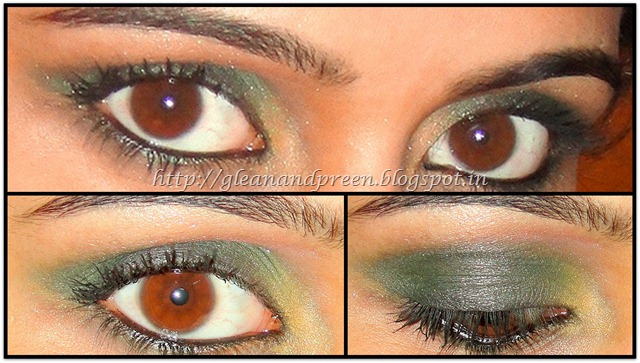Smokey Bottle Green Eyes