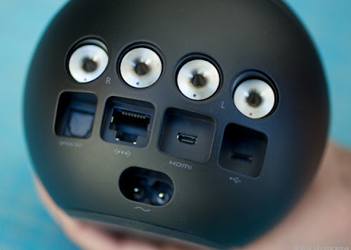 Google Nexus Q - connettori