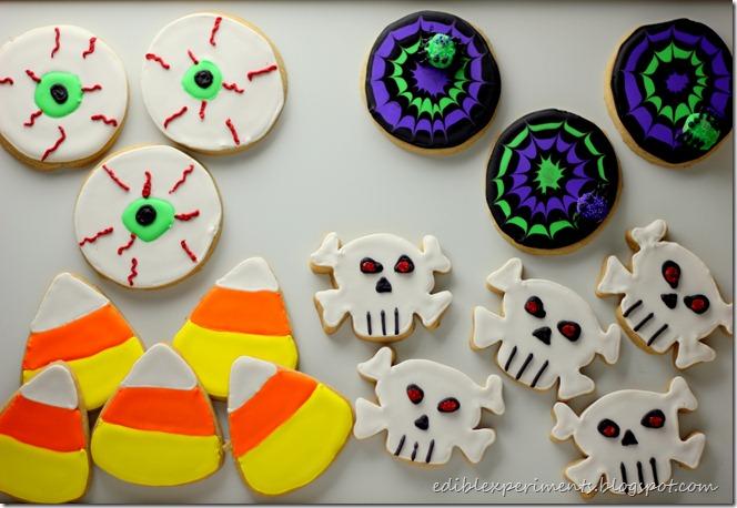 Spooky Halloween Sugar Cookies