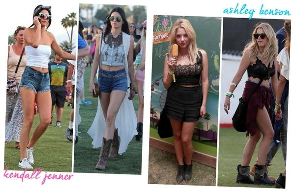 Looks famosas Coachella 2014 03 - Kendall Jenner