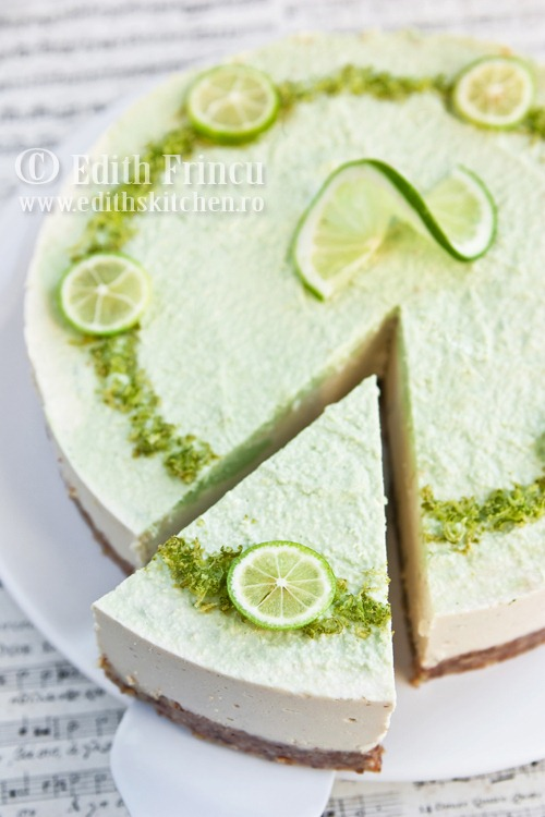 CHEESECAKE CU LIME RAW