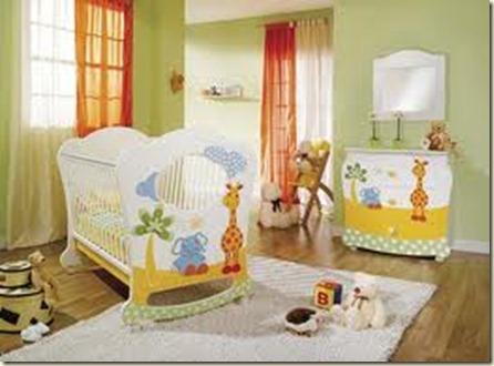 decoración de dormitorios de bebes