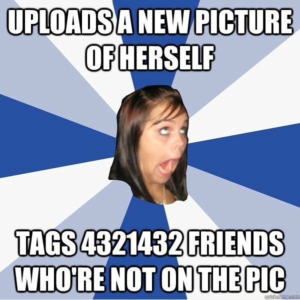 Tagging pictures