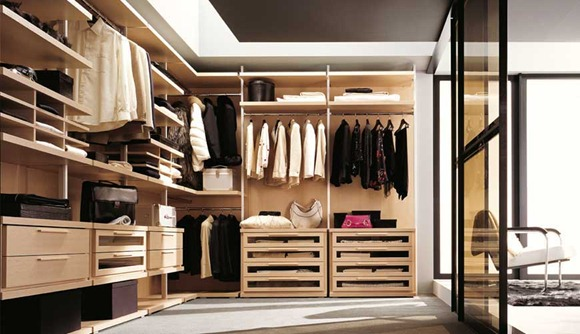 diseños de Closets y vestidores