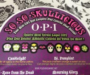 OPI So So Skullicious 3