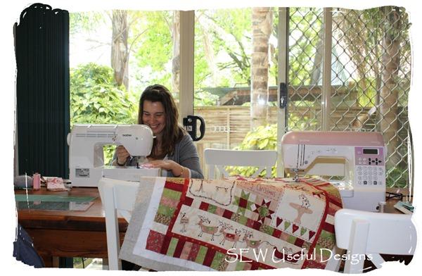 Alisha sewing 2